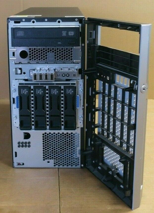 HP Proliant ML310E G8 v2 Quad Core E3-1220v3 3 1Ghz 8GB 4x 3 5 Tower